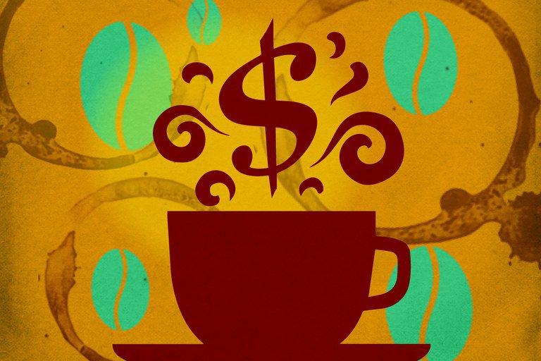 A alta do café